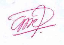 tanda tangan bercangkang